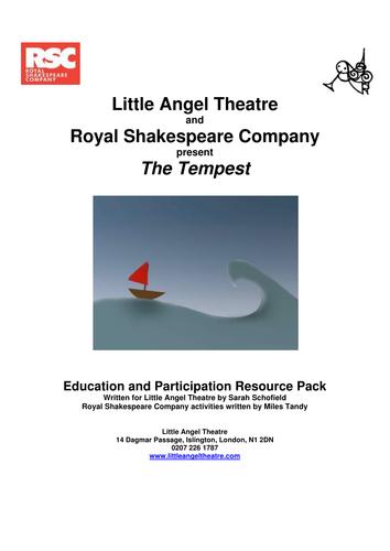 The Tempest 2010 Teacher Pack