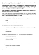 Romeo Juliet Questions Worksheet For Act 1 By Missrathor