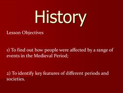 Medieval Britain - the Black Death