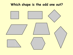 Classifying Quadrilaterals by ceejaypee - Teaching Resources - Tes