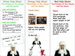 Parables Traffic Light Help cards.ppt