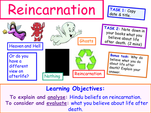 Hindu Beliefs about Reincarnation Lesson. by terriannisis19 ...