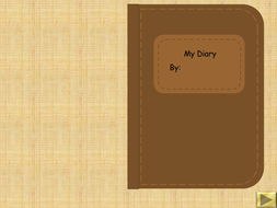 Diary Writing Template.ppt