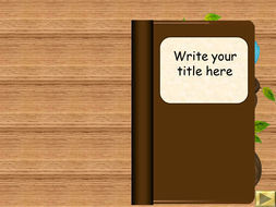 Interactive powerpoint book templates by bevevans22 teaching fantasy book templateppt toneelgroepblik Choice Image