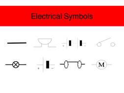 Super Electric Circuit Symbols By Jimbob37 Teaching Resources Wiring Cloud Hisonuggs Outletorg