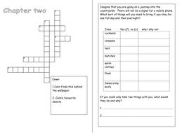 crossword and checklist.doc