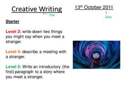 Coraline Creative Writing - Tension
