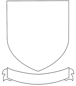 Tudor knights and coats of arms by mike ennington uk for Blank shield template printable