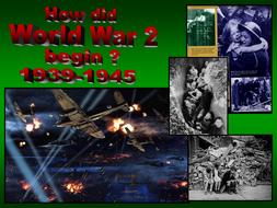 How did World War II begin?