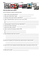 Question sheet,How did WW2 begin, diff.doc