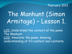The Manhunt (Simon Armitage)