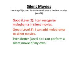 Melodrama: Silent Movies