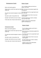 Sonnet matching Shakespearean to Modern English.doc