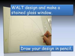 Making tissue stain glass window.pptx