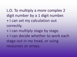 Multiplying 2 digit by 1 digit both methods