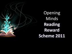 Reading Reward Scheme - Teacher Guide Whole School