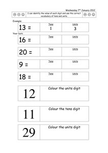 worksheets for partitioning two digit numbers by rubyru22 uk teaching resources tes. Black Bedroom Furniture Sets. Home Design Ideas