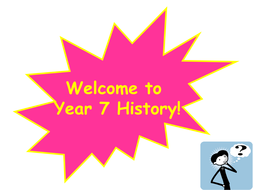 What Is History Year 7 Lesson Powerpoint 1