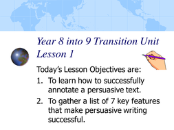 transitions for persuasive writing