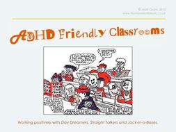 ADHD Friendly Classrooms - CPL / CPD