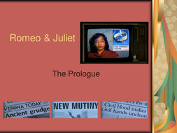 Romeo & Juliet: Lesson Resources on The Prologue