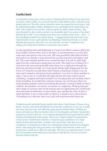 how to write a dual narrative