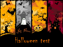 Halloween Test