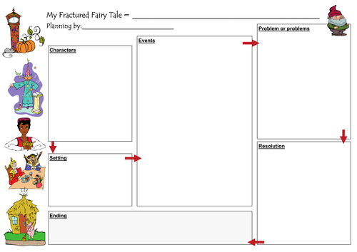 Fractured Fairy Tales by imwells Teaching Resources TES – Fairy Tale Worksheets