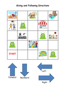 Y1 position and direction activity