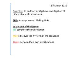 5) algebraic investigation.pptx