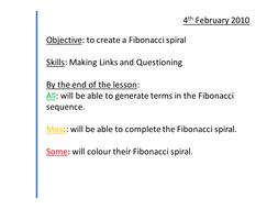 6) fibonacci spiral.pptx