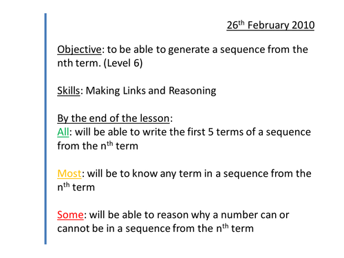 Common Worksheets » Sequences Worksheets Year 7 - Preschool and ...