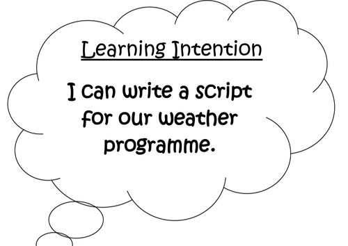 News & Weather Report Script Writing by googlie-eye