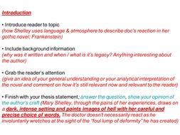 4 great thesis statement ideas frankenstein essay