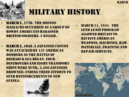 This month in history...