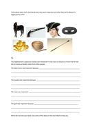 Highwayman story items