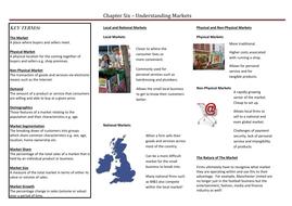 Chapter Six - Understanding Markets.doc