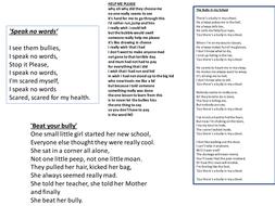 bullying poems.pptx
