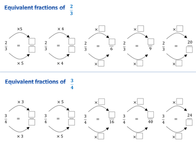 Equivalent Fractions Worksheets Ks2 & 17 best images about primary ...
