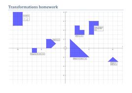 enlargements on a coordinate grid worksheet by tristanjones