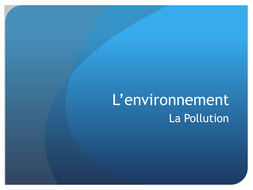 Environment - Pollution video ad.ppt