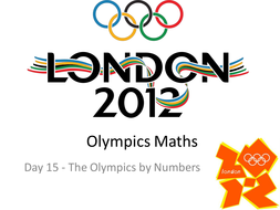 2012 Olympics by numbers - Wall Display idea