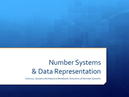 Systems Architecture - Number Systems 1A.pptx