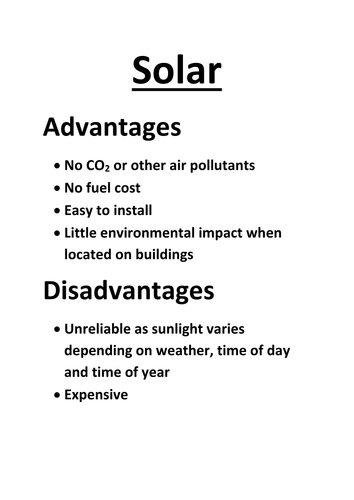 Renewable Energy: Which Sources Should We Choose? by ajohnson62 ...