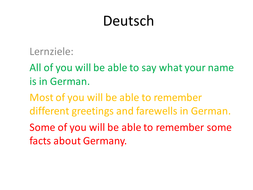 Introduction to german by louisechesterman teaching resources tes introduction to german m4hsunfo