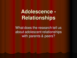 Parental Relationships Power Point