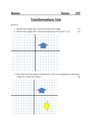 Transformations Test