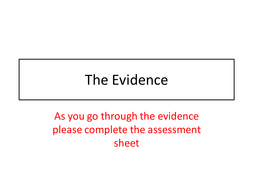 The Evience.pptx