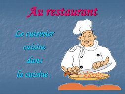 Petit vocabulaire du restaurant