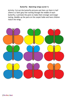 PSRN: Butterfly Wings - Colour Matching (Level 1)